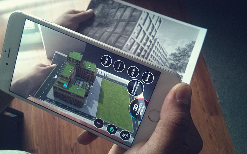 Augmented reality and Virtual Reality Apps