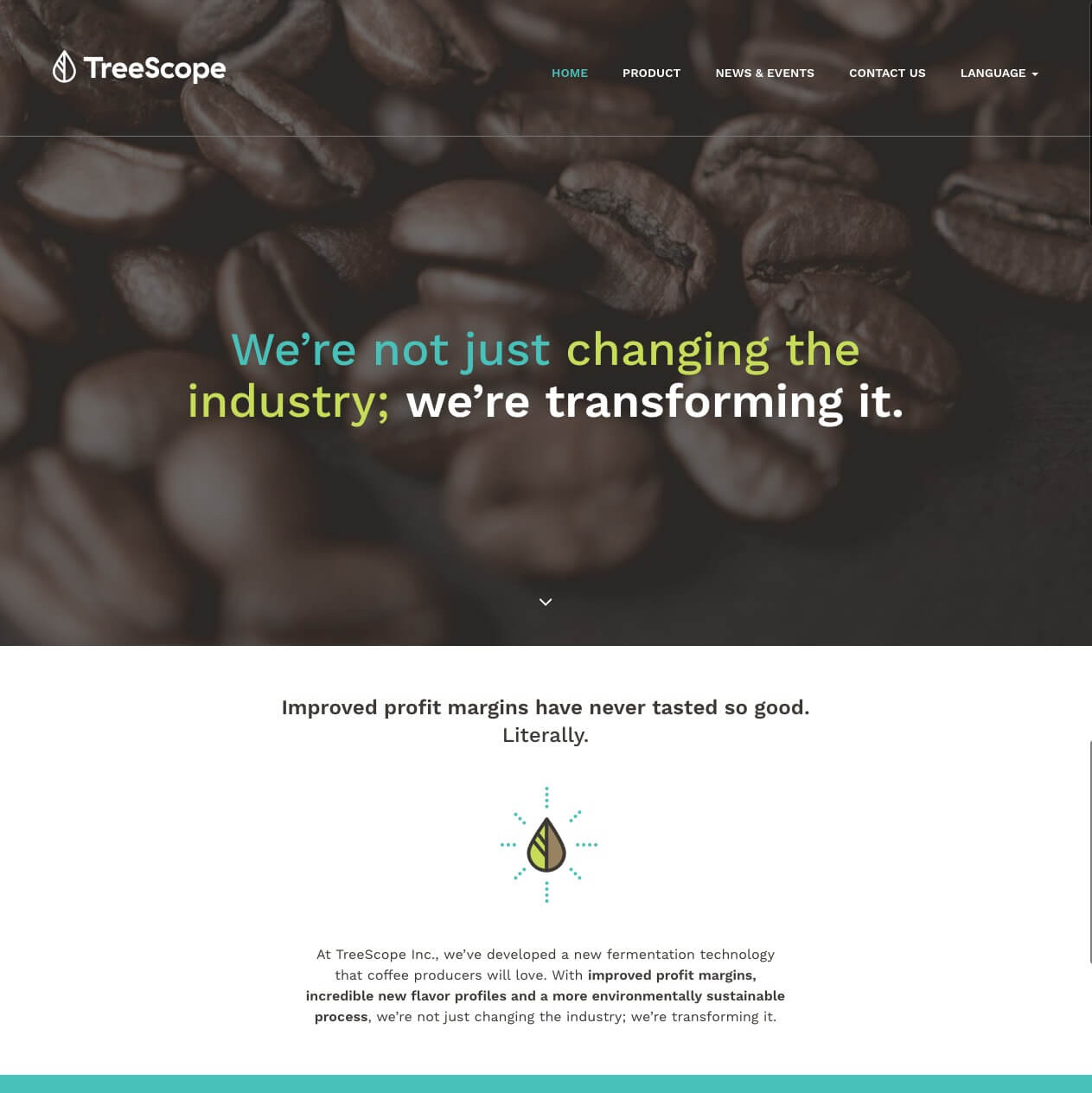 product-website-development-treescope