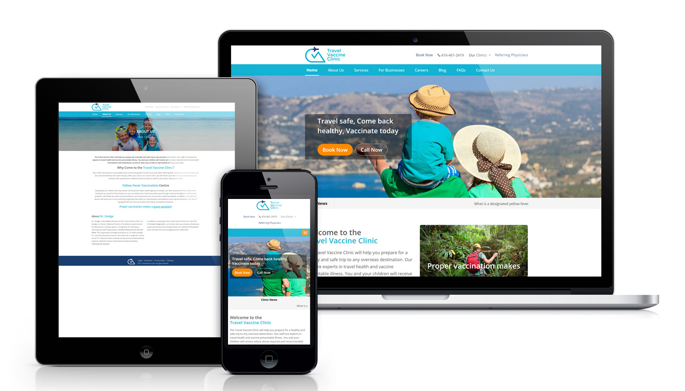 tvc-clinic-website-design