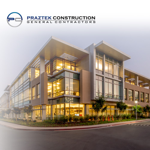 Praztek Construction - Custom Website Design