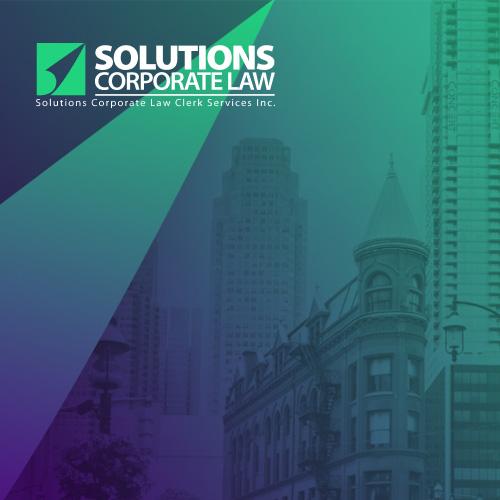 Solutions Corporate Law Website Design